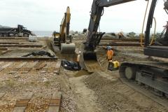 Réfection du drainage - Cour de triage SOPOR (1)