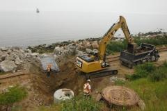 Réfection du drainage - Cour de triage SOPOR (3)